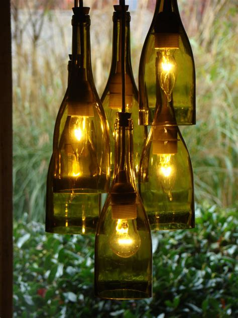 how to put christmas lights on shrubs brightnest after the party 5 ways to upcycle wine bottles