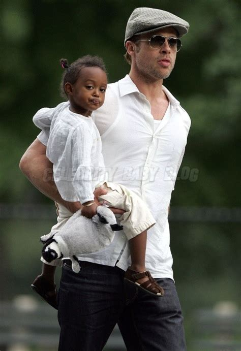 Now Zahara Pitts A Bag by Brad Pitt And Zahara Enjoy A Carriage Ride