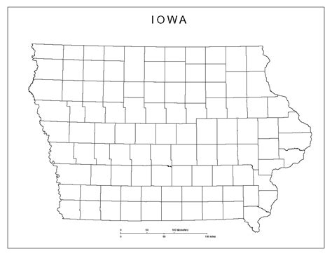 printable map iowa image gallery iowa county map printable