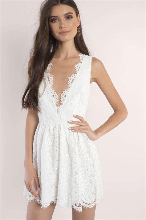 Ij Lg Dress Lawren skater dress scalloped dress wine lace overlay dress tobi