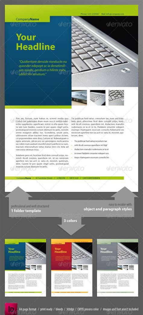 newsletter layout size 47 best ad templates images on pinterest