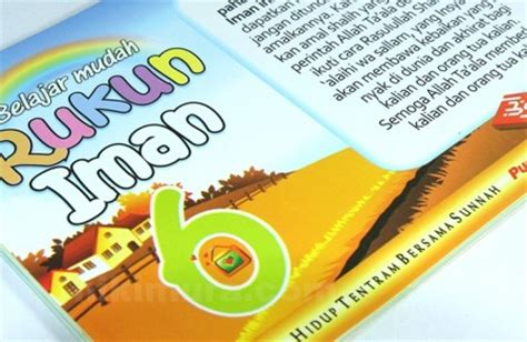 Buku Anak Belajar Rukun Iman buku anak islam rukun iman