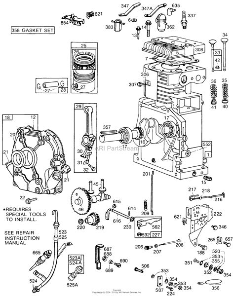 14 5 hp briggs and stratton engine diagram briggs and