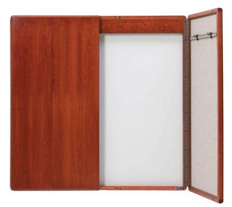 dry erase board cabinet contemporary lecture cabinet 3 h x 2 w mahogany