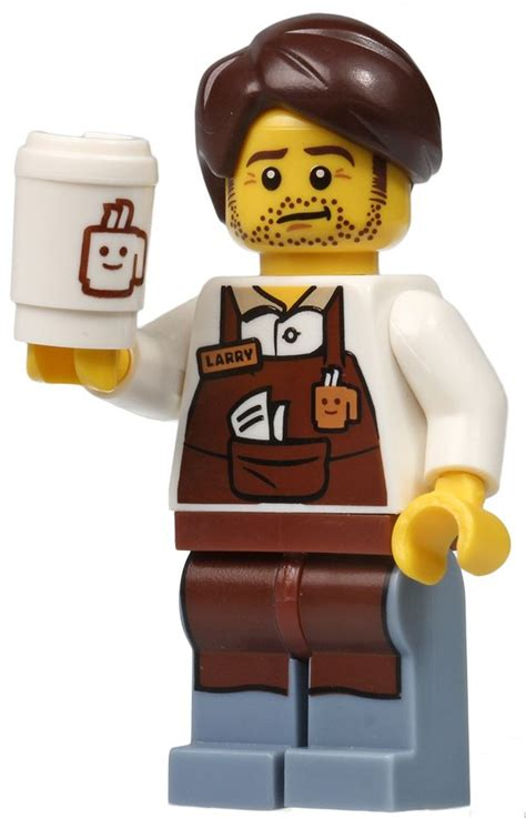 Lego Minifigures The Lego Larry The Barista 17 best images about the lego on the astronauts minis and william shakespeare
