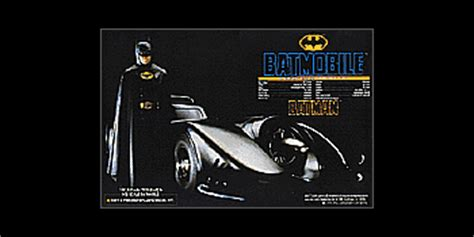 Aoshima Batman Returns 1989 Batmobile 132 Scale Model Kit batmobiles batmobile toys