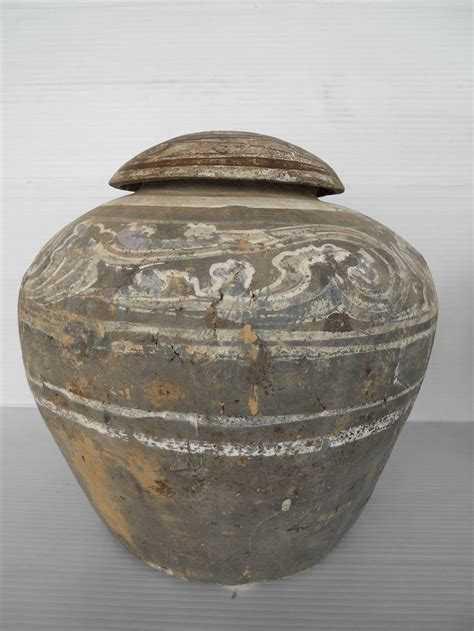 Decorative Urns And Vases Han Dynasty Set Of Urn And Vase For Sale At 1stdibs