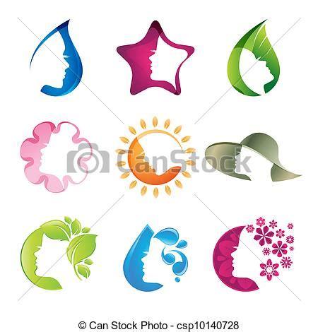 clip art de vectores de conjunto salud icono vector ilustraciones de vectores de conjunto belleza iconos
