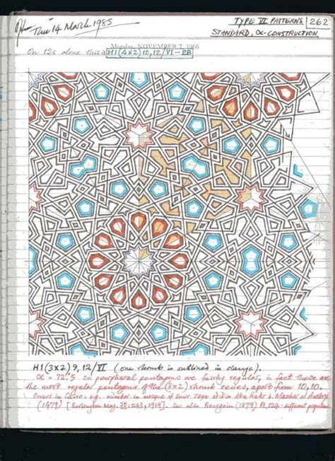 design pattern notes by sriman 191 best images about notes of islamic star patterns by a