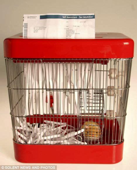 Hamster Powered Paper Shredder by Hamster Power The Pet Who Runs His Own Paper Shredder