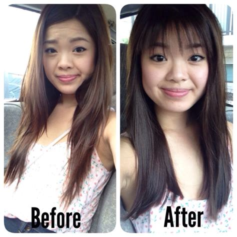 before and after pics of bangs with long hair jay kelly studio 29 reviews hair stylists 7423