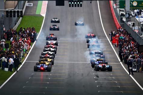 Grille De Depart by F1 La Grille De D 233 Part Du Grand Prix De Grande Bretagne