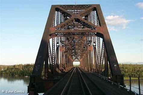 Temporary Deck by Alaska Railroad Photographs