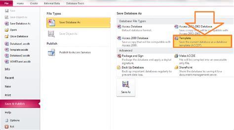 cara membuat database dengan microsoft excel 2013 cara membuat template aplikasi database access menggunakan
