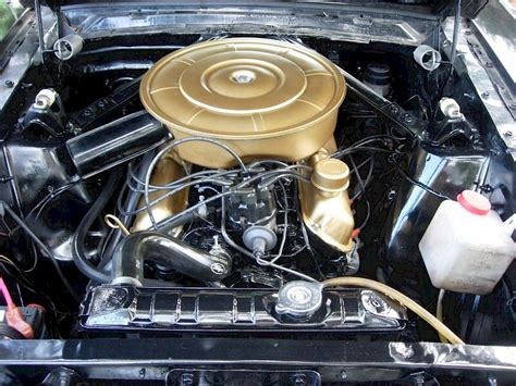 mustang 1965 engine 1965 ford mustang engine options