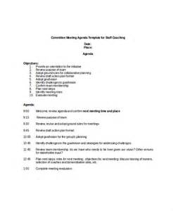 Committee Meeting Agenda Template committee meeting agenda template 12 free word pdf