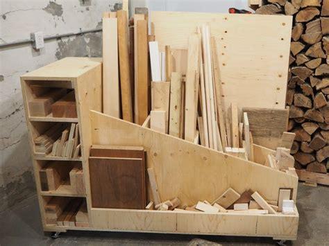 ultimate lumber storage cart lumber storage woodworking
