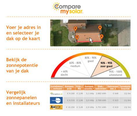 offerte zonnepanelen voorbeeld offerte zonnepanelen vergelijk 100 prijzen online