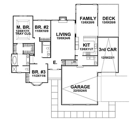 sovereign homes floor plans sovereign one story home plan 046d 0100 house plans and more