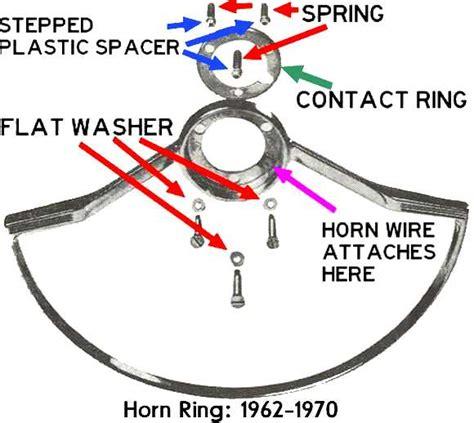 wiring diagram for steering wheel horn k