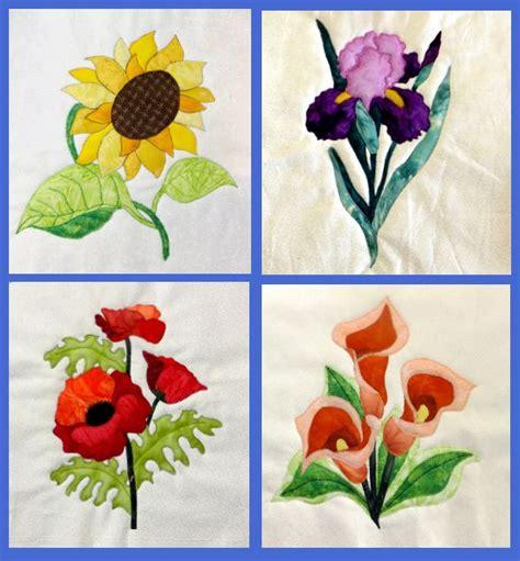 Flower Quilt Block by Flower Blocks Quilt Quilting Inspiration