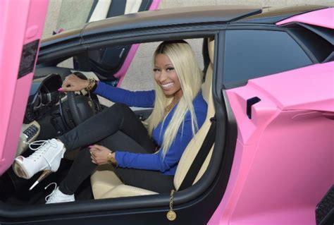 Nicki Minaj Pink Lamborghini by Nicki Minaj Shows 400 000 Pink Lamborghini