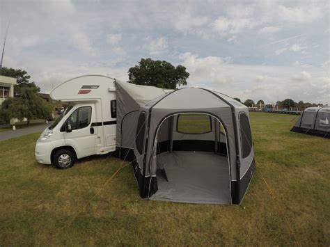 drive away awning for motorhome vango airhub hexaway tall drive away awning 2018