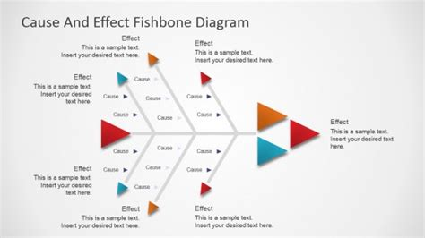 cause and effect diagram template free fishbone diagram templates for powerpoint