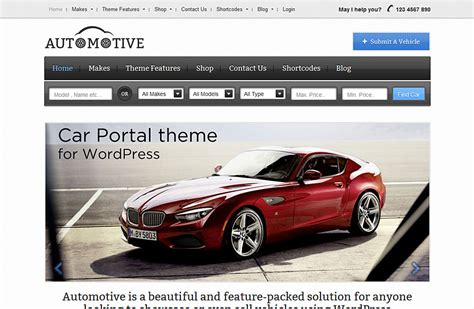 Design Your Own Home Easily Automotive Car Classifieds Wordpress Theme 2018 Build