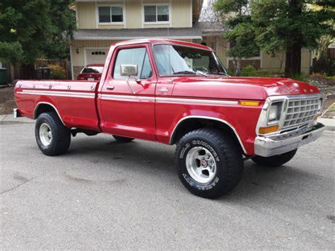 78 ford ranger for sale 1978 ford f150 ranger 4x4 a t a c p s p b f 150 f 250 f