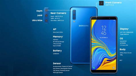 Harga Samsung Galaksi A7 2018 intip harga dan spesifikasi samsung galaxy a7 2018 yang