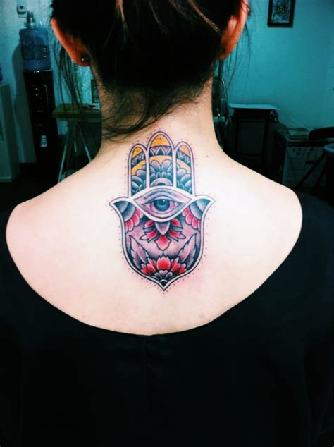 brandon tattoo my hamsa done by brandon yelp