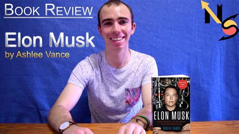elon musk vance elon musk by ashlee vance book review youtube
