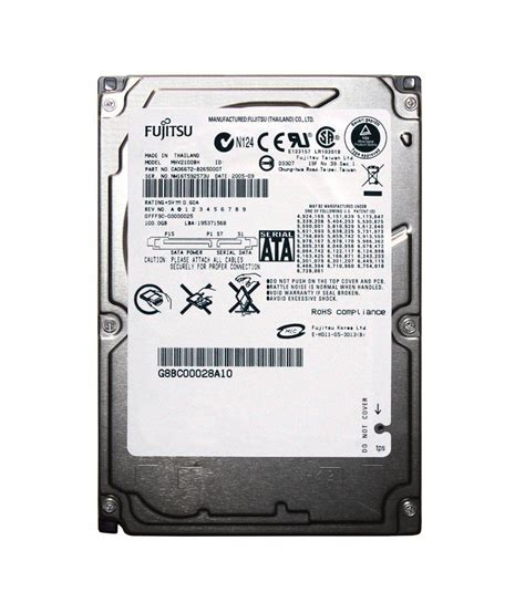 Hardisk Laptop Fujitsu fujitsu mhv2100bh 100 gb sata laptop disk buy