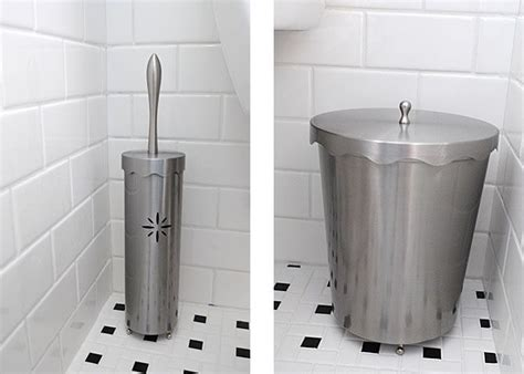 Modern Bathroom Garbage Cans 1000 Images About New Bathroom On Grey