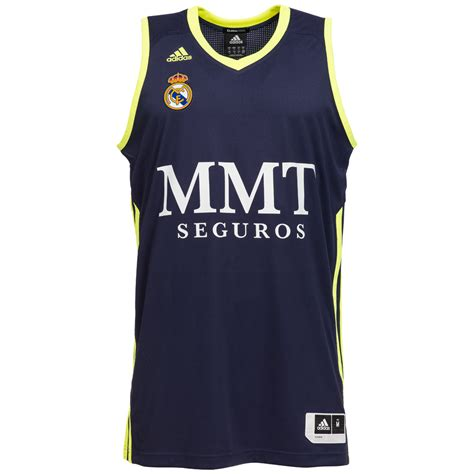 Tank Top Herren by Real Madrid Adidas Basketball Trikot Herren Tank Top