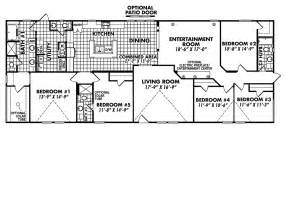 5 bedroom mobile home floor plans gallery for gt 5 bedroom mobile home floor plans