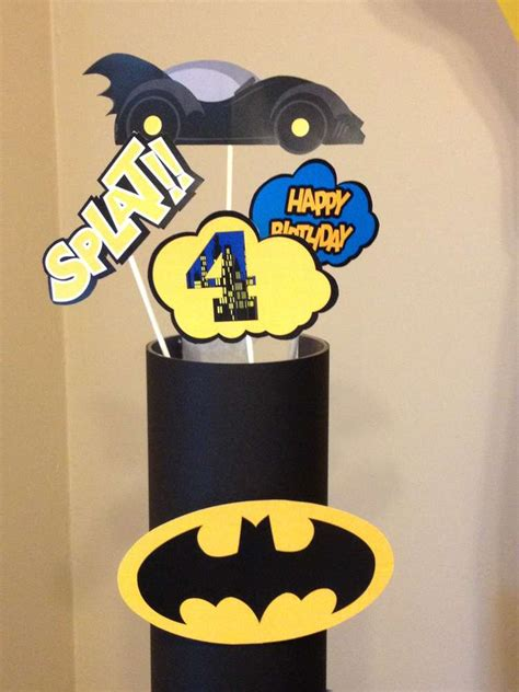 Topper Pow Dll 14 Pc batman theme birthday birthday ideas photo 1