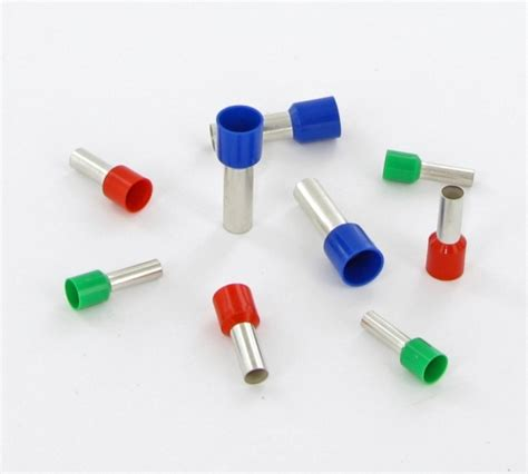Single Insulated Ferrules 0 50mm Putih 50mm x 20mm blue insulated ferrules part number 005981