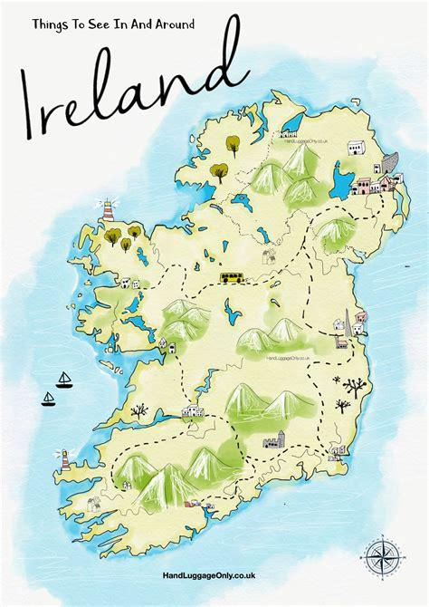 0008320403 wild atlantic way pocket map 19 stunning things to see and do across ireland hand