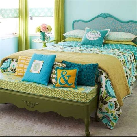 yellow and teal bedroom teal yellow jacie - Teal And Yellow Bedroom Ideas