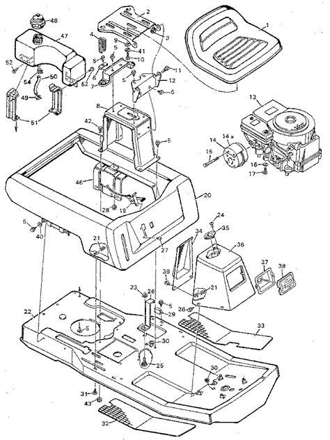 murray mower parts diagram murray murray mower parts model 930502 sears