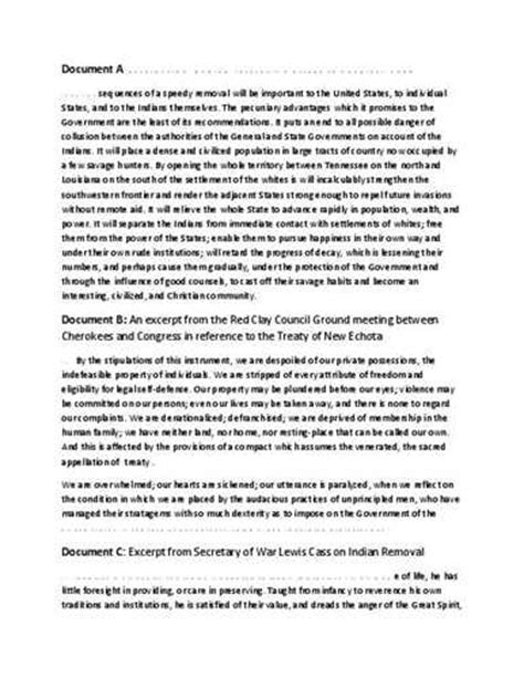 Andrew Jackson Mba by Indian Removal Act Essays 1 30 Anti Essays