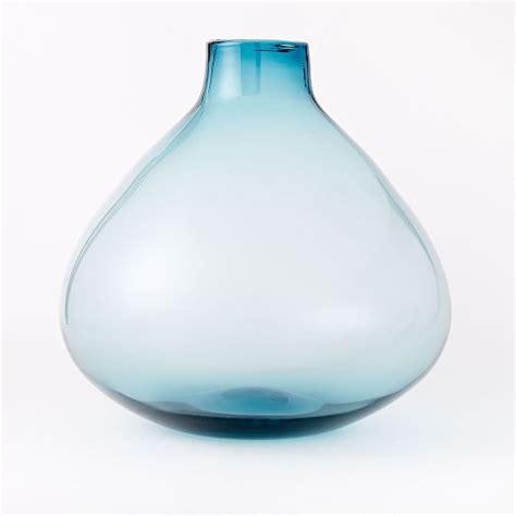 oversized glass vase west elm