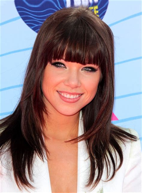 carly heair style carly rae jepsen hairstyles wallpaper 1 of 2