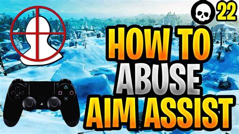 abuse aim assist improve  aim psxbox