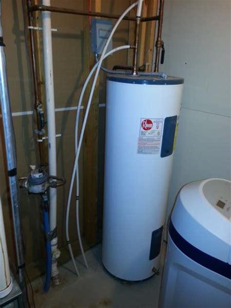 Plumbing Water Softener by Plumbing In A Water Softener Help Doityourself