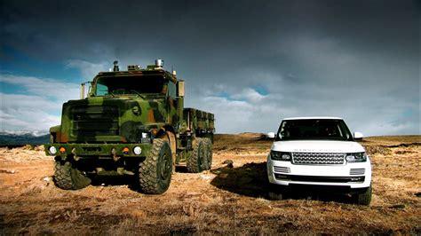 land rover gear quot terminator quot vs range rover terramax top gear series