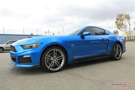 13 roush mustang magnificent roush mustang rs2 in gloss metallic blue