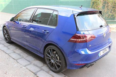 mk7 golf r blue 2014 mk7 vw golf r lapiz blue dan s garage